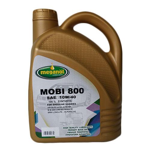 MEGANOL MOBI 800 10W40 100% ΣΥΝΘΕΤΙΚΟ (4lt) Κινητήρες Βενζίνης