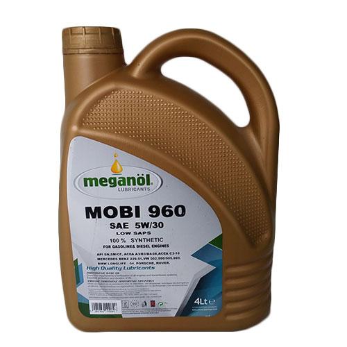 MEGANOL MOBI 960 5W30 100% ΣΥΝΘΕΤΙΚΟ (4lt) Κινητήρες Βενζίνης