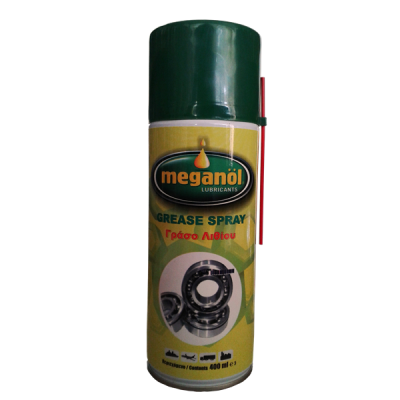 MEGANOL GREASE SPRAY ΓΡΑΣΣΟ SPRAY 400ΜL